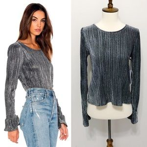 Amuse Society Glimmer Knit Top 10-0295